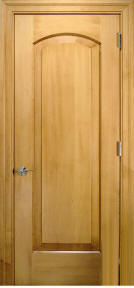 solid wood raised panel house doors